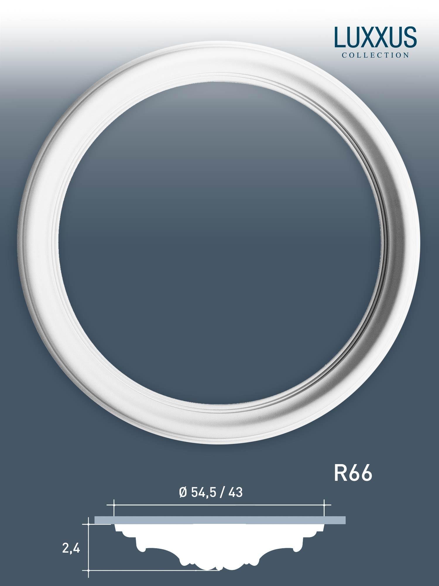 orac decor r66 luxxus hochwertige ring decken rosette stuck lampen rosette 54 cm ebay. Black Bedroom Furniture Sets. Home Design Ideas