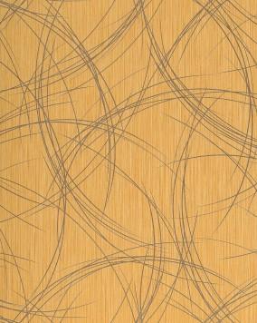 edem 1021 11 tapete vinyltapete linien muster abwaschbar original edem gold gelb gelb. Black Bedroom Furniture Sets. Home Design Ideas