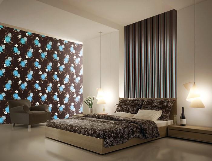 edem 824 29 gepr gte blumen tapete violett flieder hell. Black Bedroom Furniture Sets. Home Design Ideas