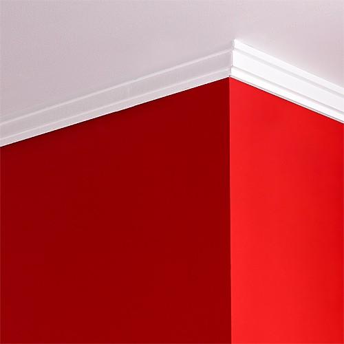 Orac decor cb531 basixx cornice soffitto e parete stucco for Cornici per soffitto