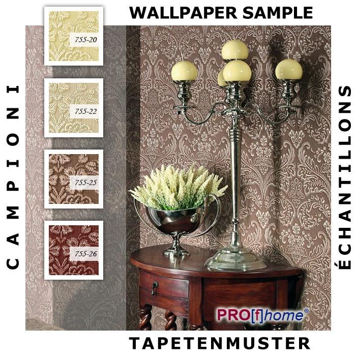 Muster Tapeten Kostenlos : Tapeten-Muster-EDEM-755-Serie-Hochwertige-3D-Barock-Heisspraege-Tapete