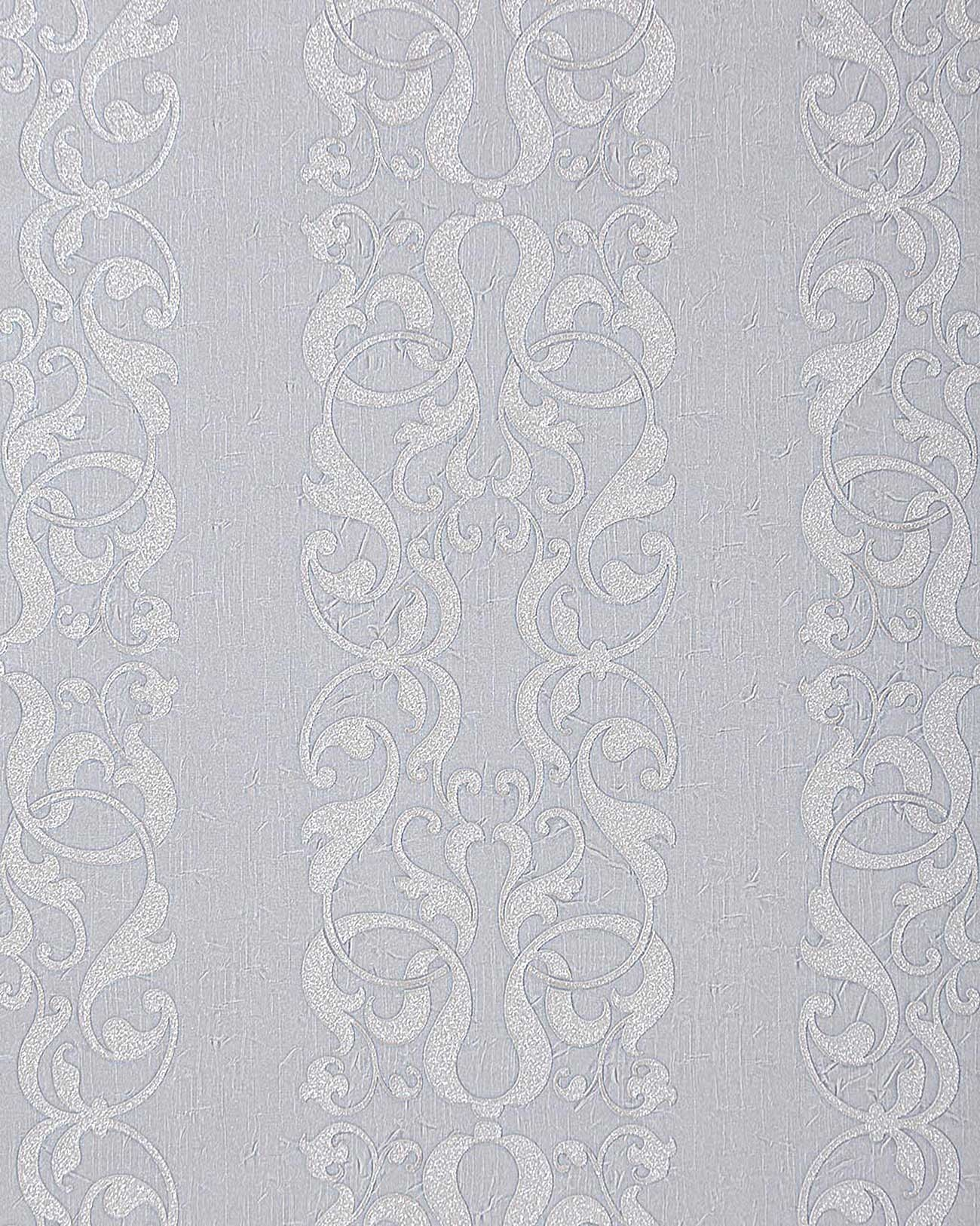 edem 829 20 barock streifen tapete damask muster hell grau silber grau 70 cm ebay. Black Bedroom Furniture Sets. Home Design Ideas