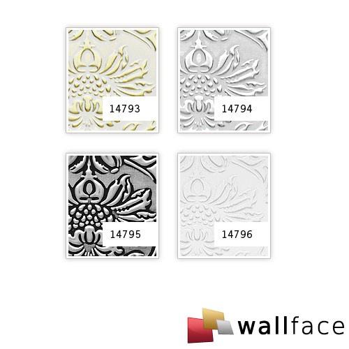 Selbstklebende Tapeten Barock : Barock Wandverkleidung WallFace 14796 IMPERIAL wei? Original WallFace