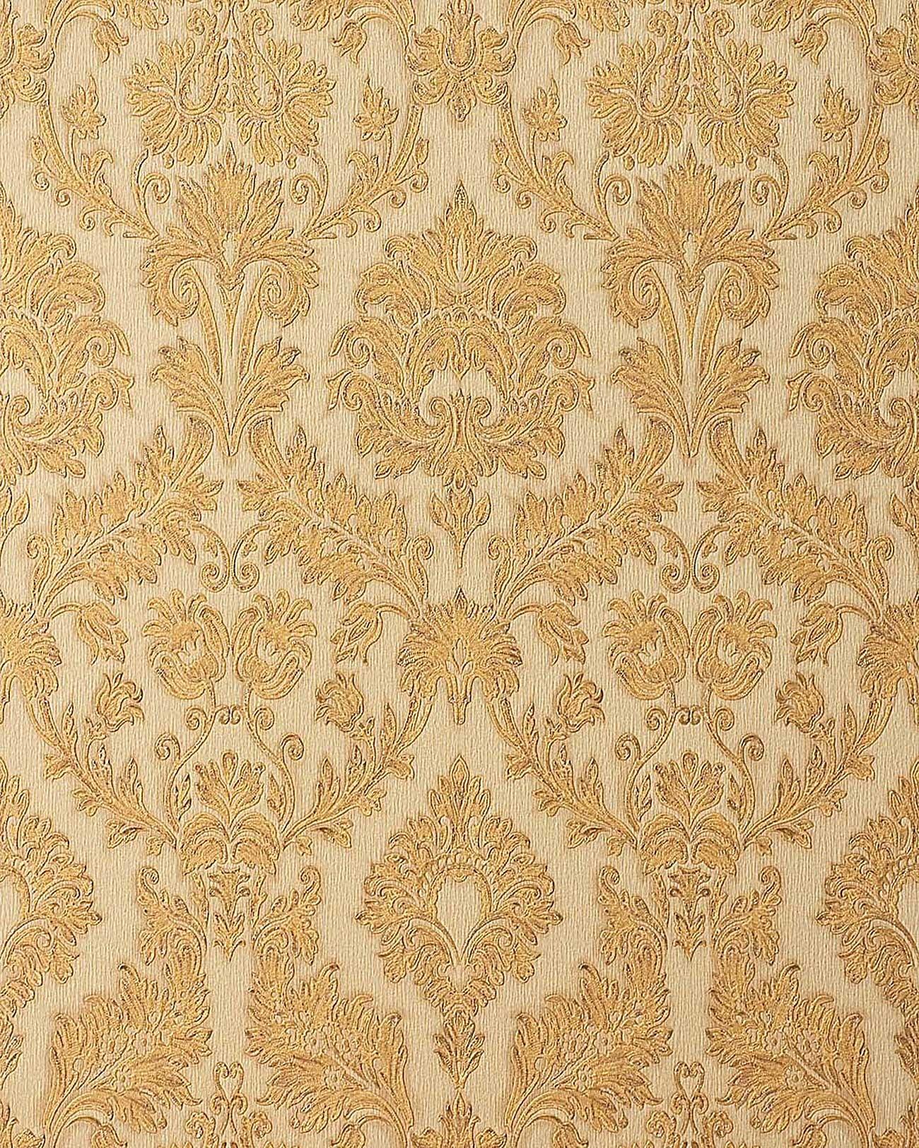 Edem 708 33 papel pintado barroco damasco gofrado textura for Papel pintado barroco