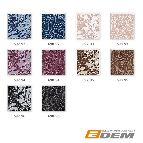 Barock Tapeten Kombinieren : Imperial Pattern Wallpaper