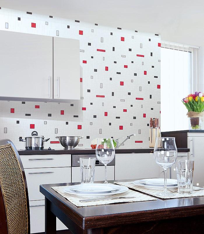 Edem 584 26 papel pintado lavable con azulejos para cocina - Papeles pintados para cocinas ...