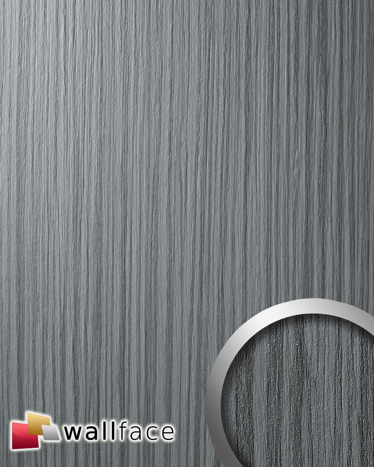 Pannello Parete Effetto Legno : Wallface wood zebrano pannello effetto ...