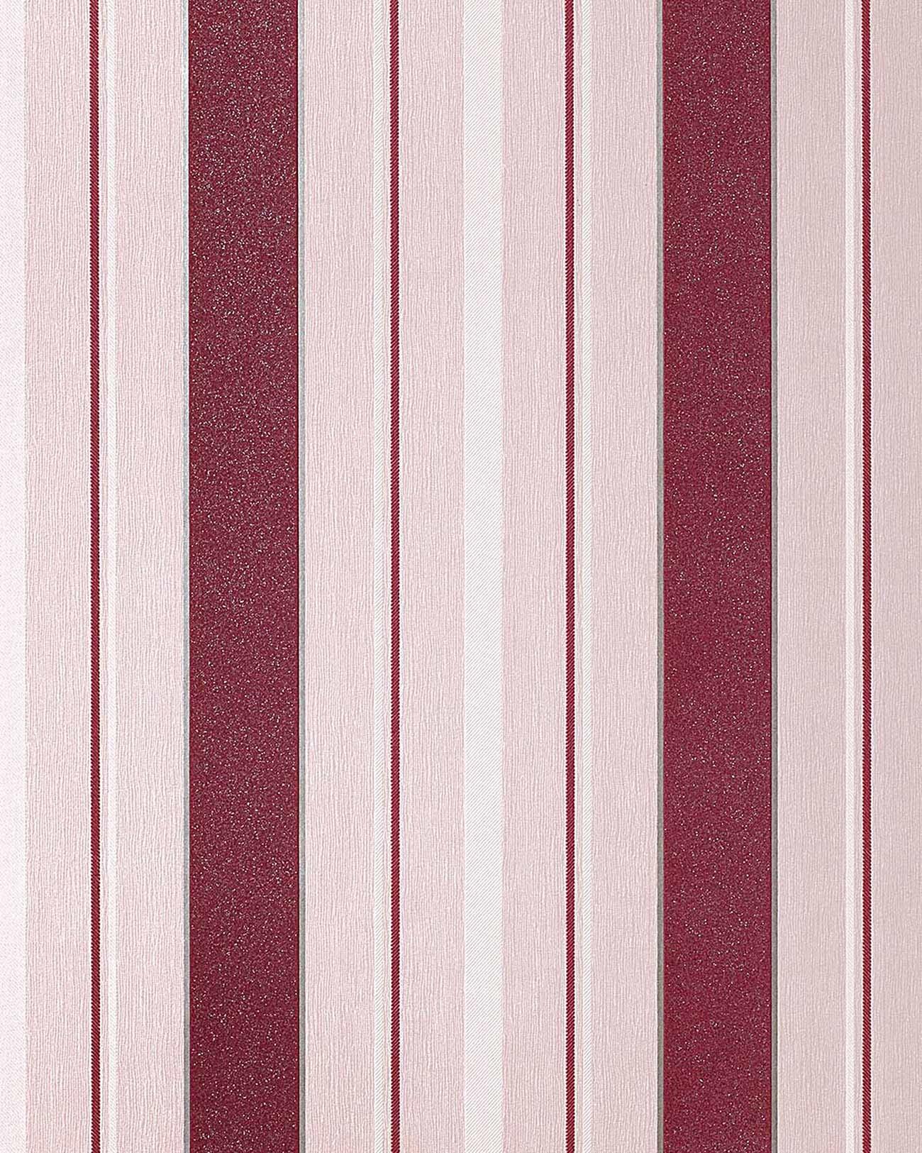 Edem 069 24 carta da parati a righe con disegno a strisce for Carta da parati adesiva a righe