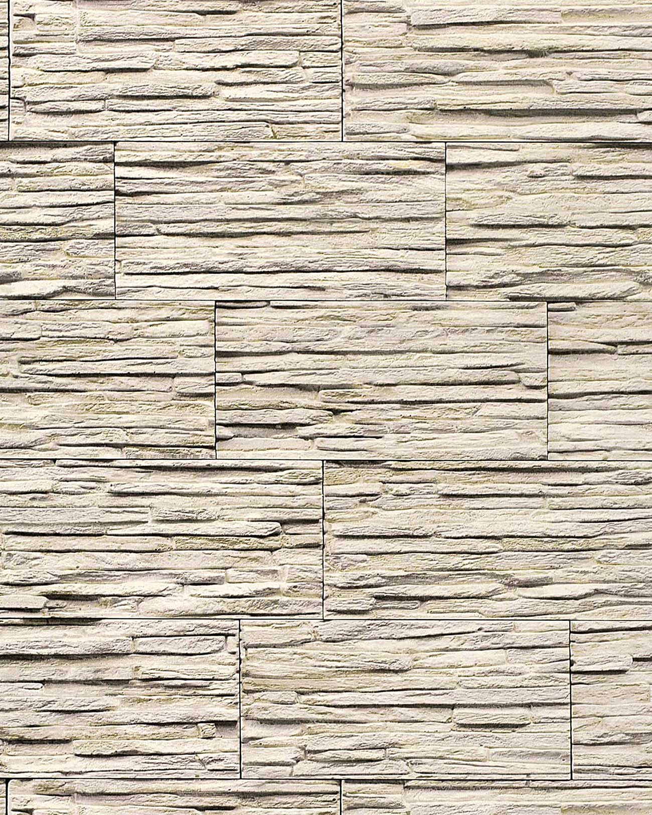 EDEM 1003 33 Vinyl Wallpaper Textured Stone Natural Brick Light Beige