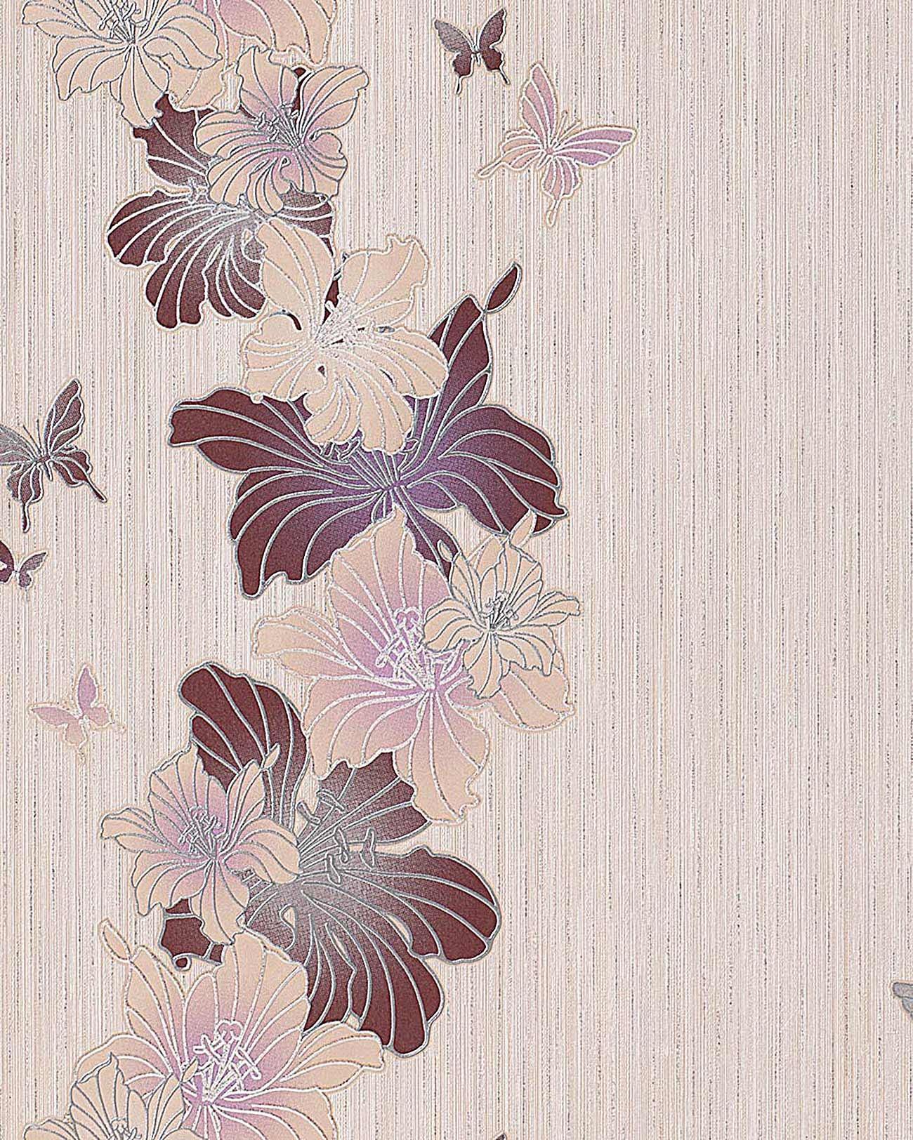 Edem 108 33 papel pintado de dise o floral flores y - Marcas de papeles pintados ...