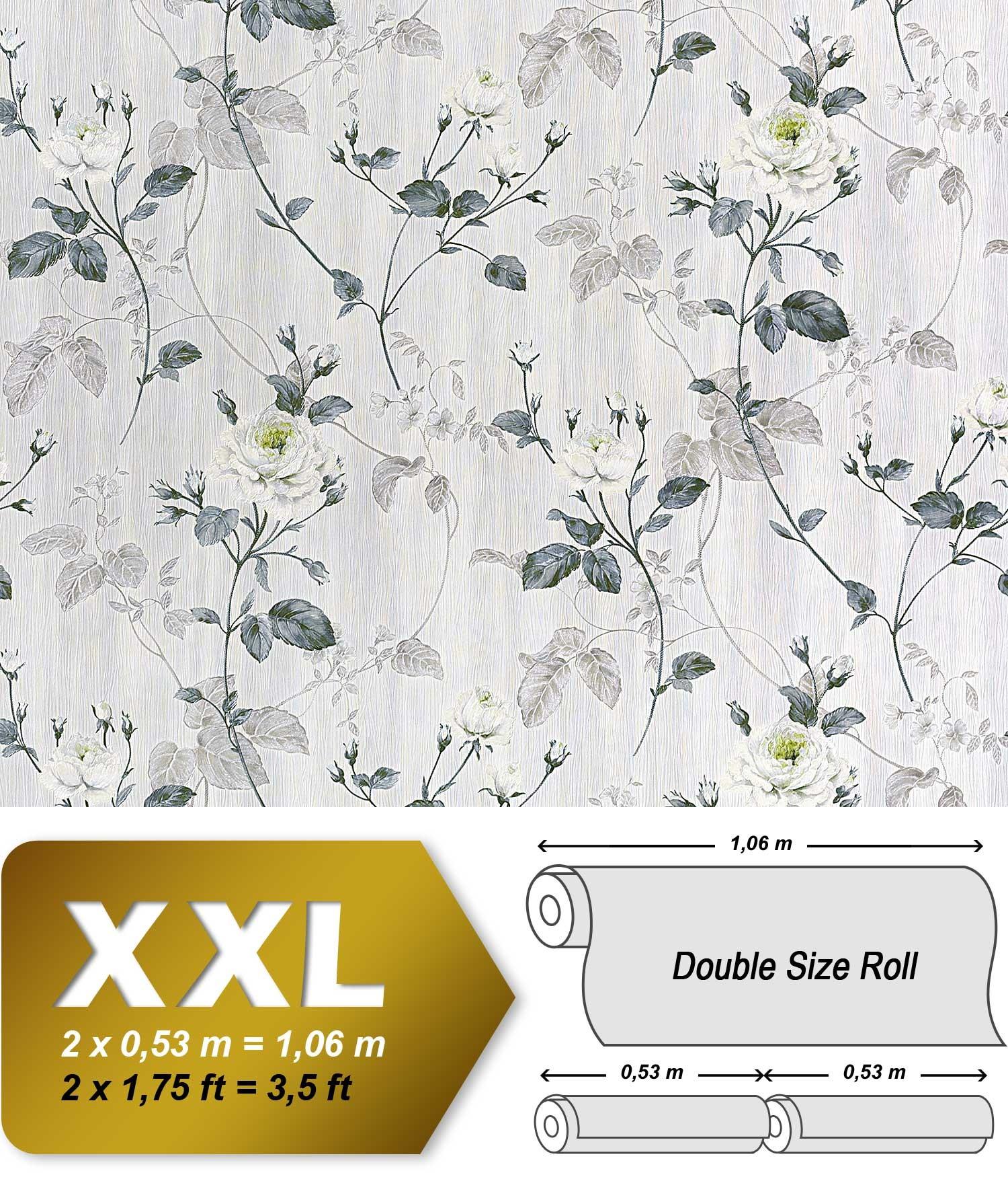 Edem 975 35 xxl papier peint intiss motif baroque floral - Papier a peindre intisse ...