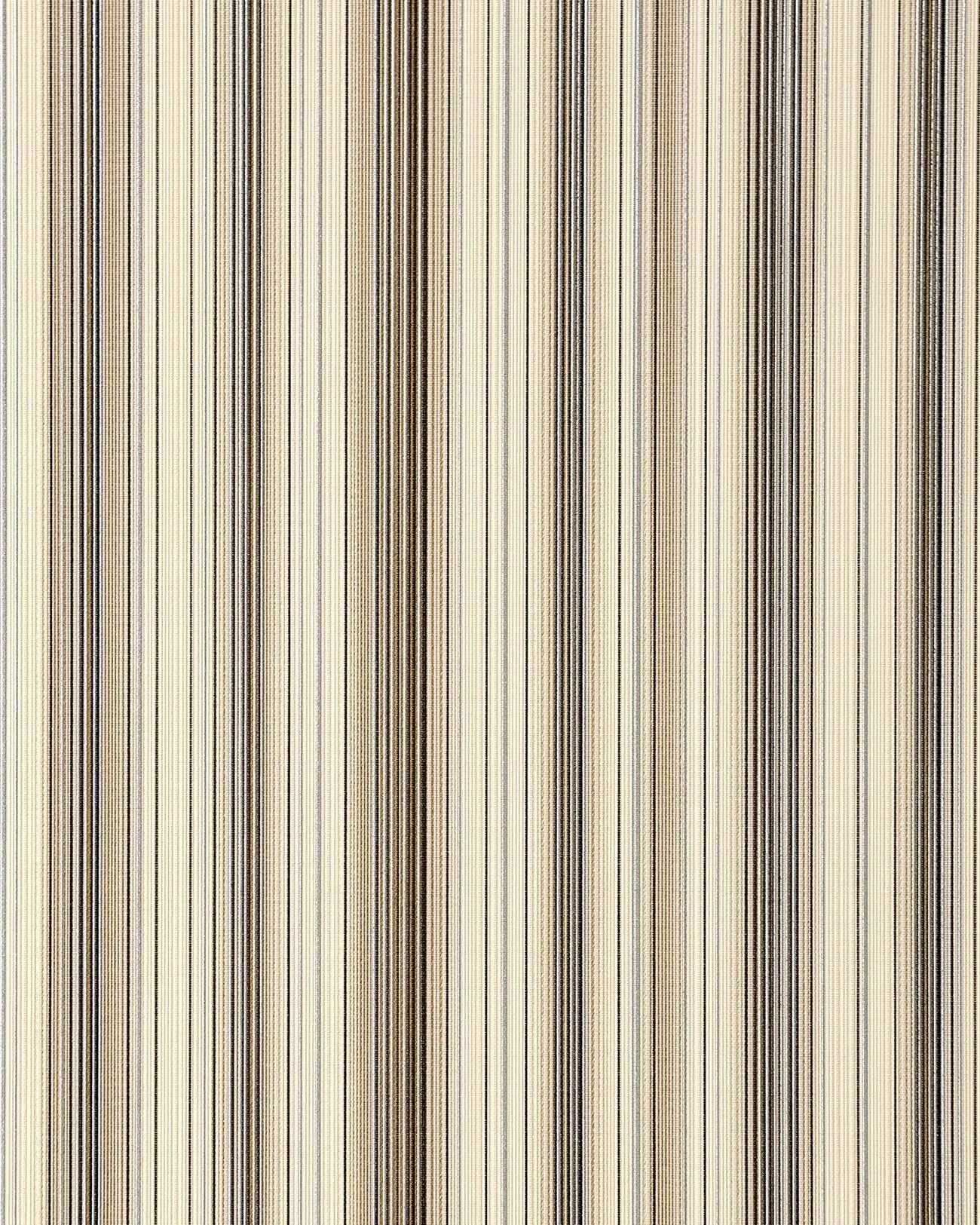 Edem 097 23 carta da parati vinilica a righe marrone beige for Carta da parati beige