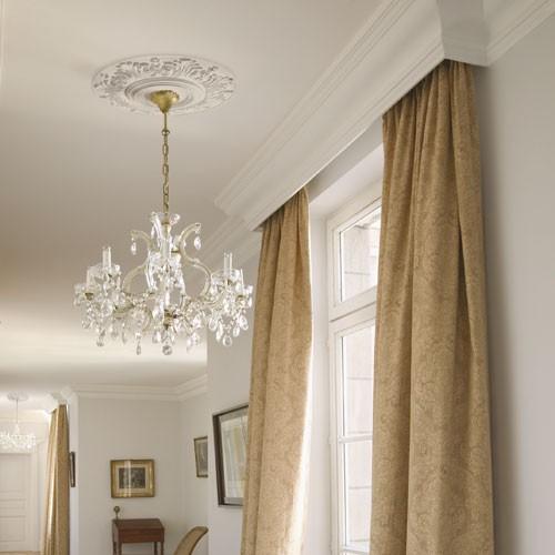 orac decor r17 luxxus deckenrosette stuck lampen rosette bl tter dekor 47 cm ebay. Black Bedroom Furniture Sets. Home Design Ideas