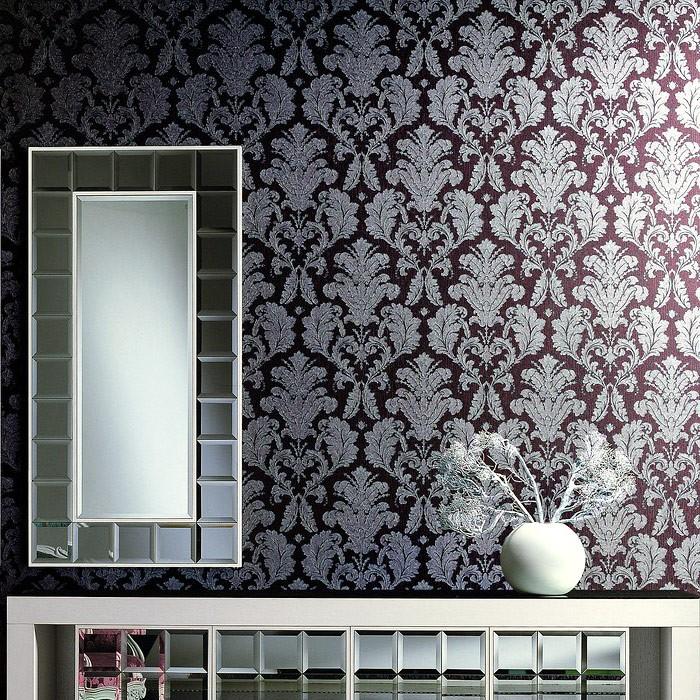 Interesting Barock Tapete Schwarz Grau Elegant With Barock Tapete Wohnzimmer