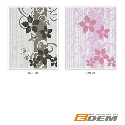 Blumentapete edem 020 24 design struktur tapete floral muster blumen