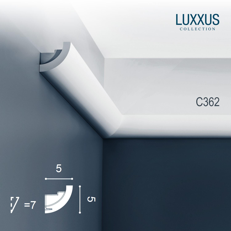 eckleisten orac decor c362 luxxus zierleisten 1 karton set. Black Bedroom Furniture Sets. Home Design Ideas