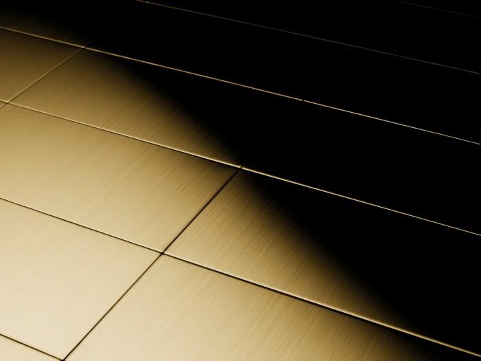 Metallmosaik fliesen aus massivem titan geb rstet in gold 1 6mm stark artikel bauhaus ti gb aus - Mosaik fliesen bauhaus ...