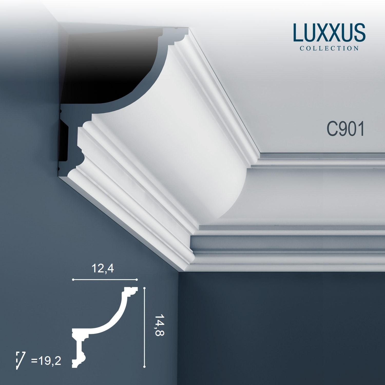 Orac Decor C901 LUXXUS Cornice Moulding Indirect lighting ...