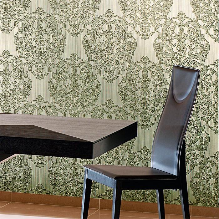 Muster Tapeten Mit Glitzer : Prunkvolles Damast-Muster braun creme bronze dezente glitzer 10,65 m2