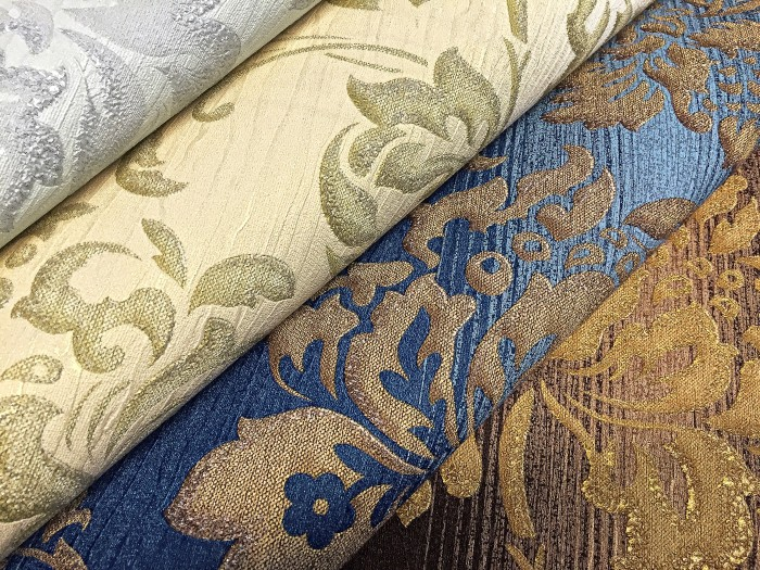 Muster Tapeten Mit Glitzer : glitzer Florales Muster mit dezenten Streifen im Hintergrund – Tapeten