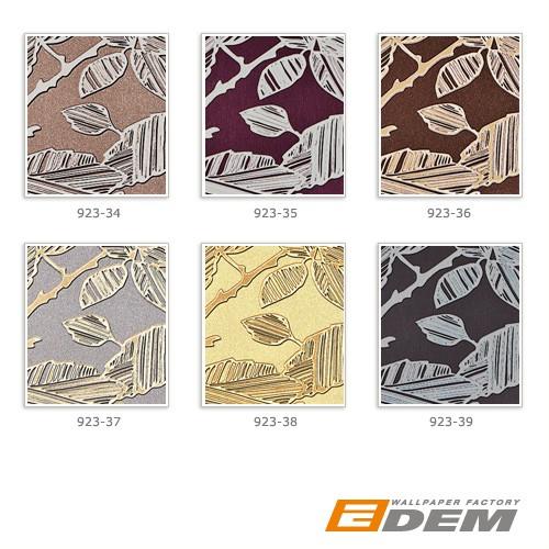 Tapeten Mit Metallic Effekt : Design Muster Metallic Effekt grau schwarz-grau silber platin 10,65 m2