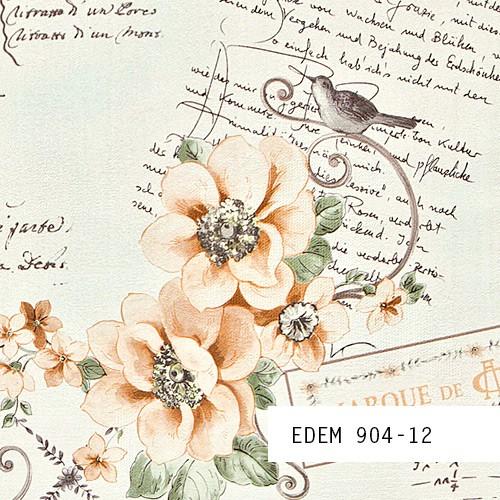 Exklusive Landhaus Tapeten : Tapeten MUSTER EDEM 904-Serie Vliestapete Landhaus Romantisch Blumen