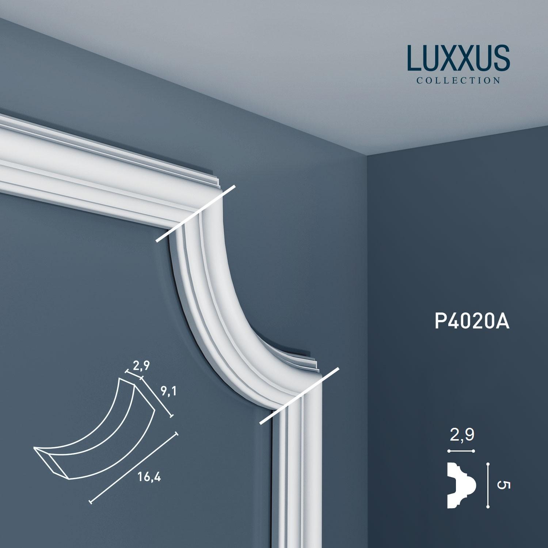 orac decor p4020a luxxus stuck eckelement wand friesleiste. Black Bedroom Furniture Sets. Home Design Ideas