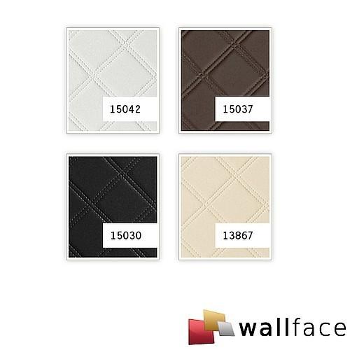 Schwarz Wei? Karo Tapete : 3D Wall Panel Adhesive Squares