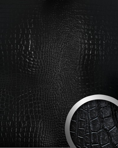 Selbstklebende Design Tapete : Pin Blickfang Dekor Selbstklebende Tapete Schwarz Silber 2 61 Qm on