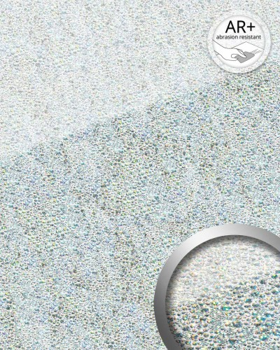 wandverkleidung glas optik wallface 17000 cocktail silber. Black Bedroom Furniture Sets. Home Design Ideas