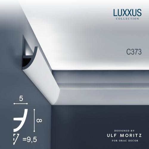 eckleiste orac decor luxxus ulf moritz c373 deckelleiste zierleiste 2 m original orac decor. Black Bedroom Furniture Sets. Home Design Ideas
