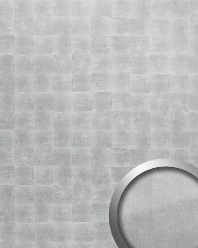 Wandverkleidung Metall Optik WallFace 18591 DECO Silber