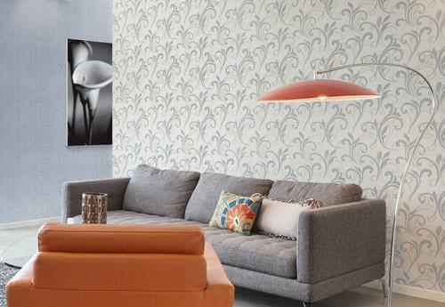 Tapete Florales Muster Gr?n : Strukturtapete Mosaikoptik PROFhome Tapeten Shop