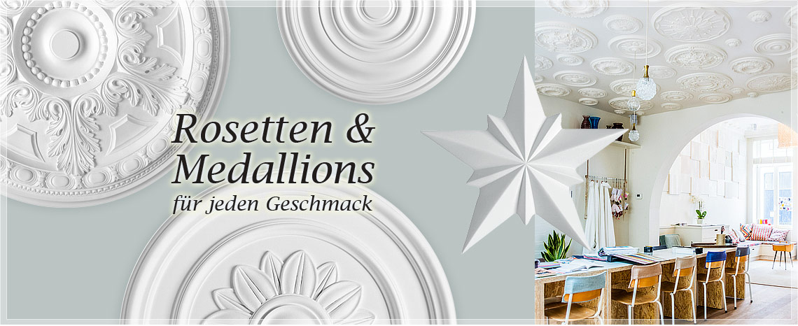 ORAC Decor Rosetten und Medallion
