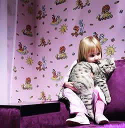 Kinderzimmer Tapete - Wichtige Informationen für Eltern. Tapeten einfach online kaufen!