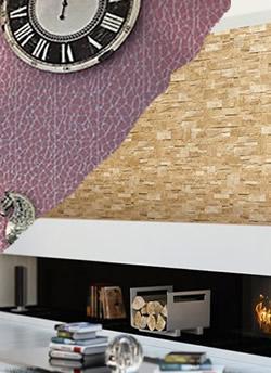 Steintapeten und Kacheltapeten in 3D von Profhome - Modern und zeitlos zugleich. Tapeten einfach online kaufen!