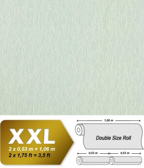 EDEM 930-30 luxury heavyweight non-woven wallpaper fabric textile look ice-white silver shimmer | 10,65 sqm (114 sq ft)