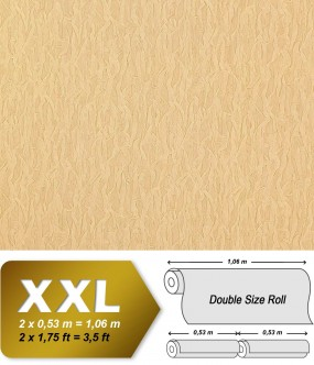 EDEM 930-32 luxury heavyweight non-woven wallpaper fabric textile look safron-yellow gold shimmer 10,65 sqm (114 sq ft)