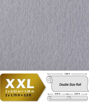 EDEM 930-37 luxury heavyweight non-woven wallpaper fabric textile look blue-lilac silver shimmer | 10,65 sqm (114 sq ft)