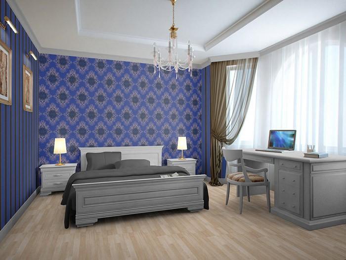schlafzimmer : tapete blau schlafzimmer tapete blau schlafzimmer ... - Tapete Blau Schlafzimmer