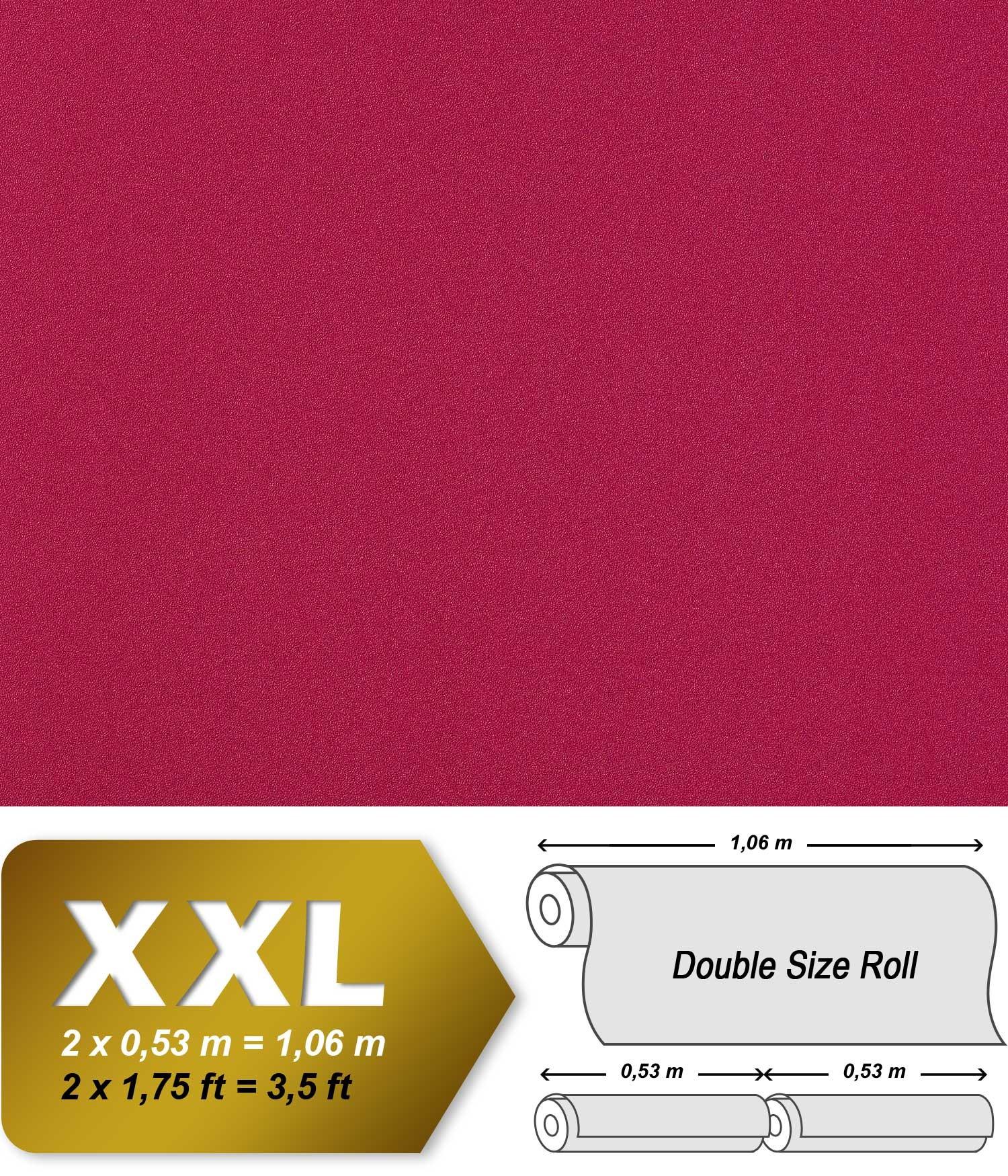 Edem 982 45 royal uni vliestapete feink rnige pigmente - Himbeer wandfarbe ...