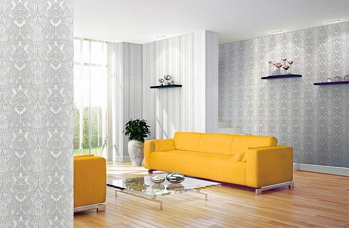 design : barock tapete wohnzimmer weiß ~ inspirierende bilder von ...