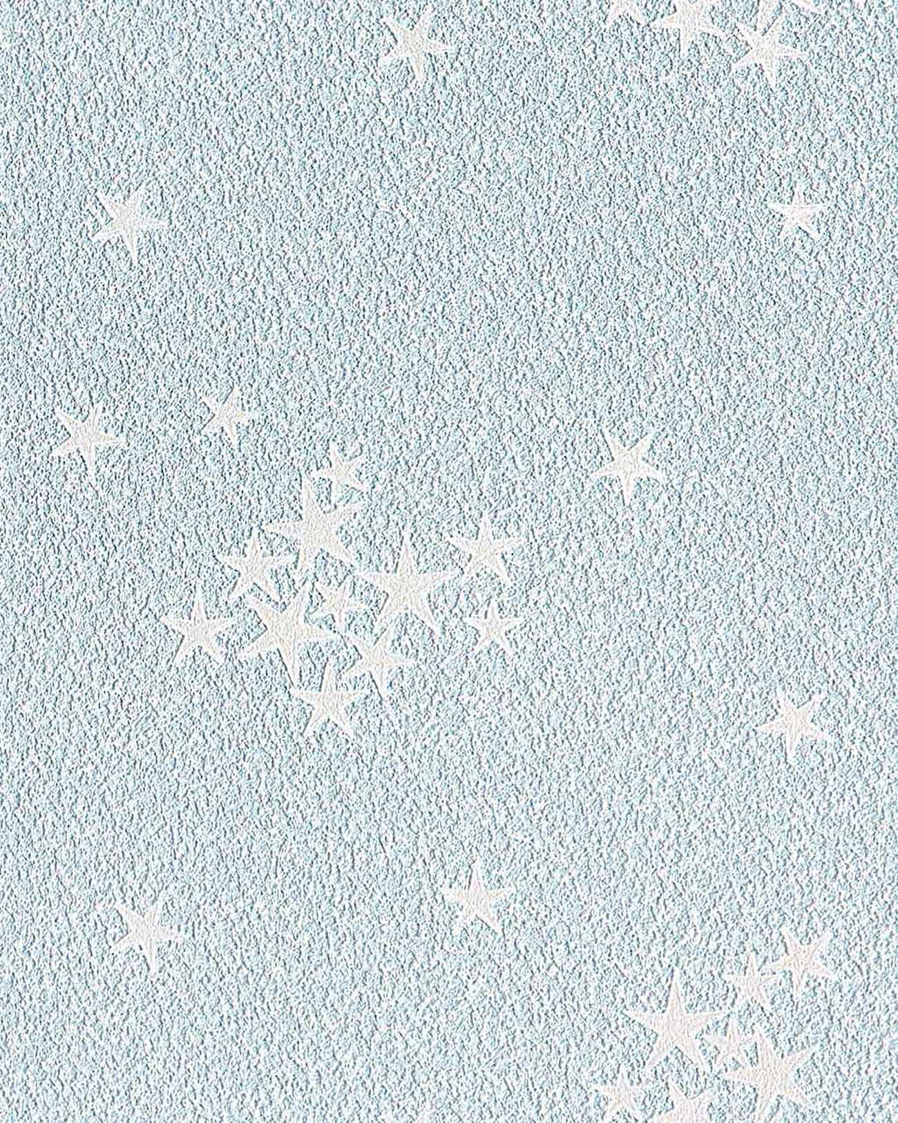 edem 533 32 decken wand tapete blau leuchtende sterne kindertapete leuchtsterne original edem. Black Bedroom Furniture Sets. Home Design Ideas