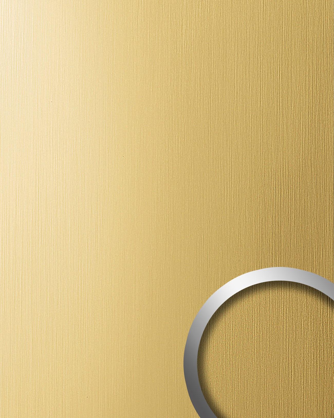 Selbstklebende Tapete Gelb : Dekoration selbstklebende Tapete gelb-gold geb?rstet matt 2,60 qm
