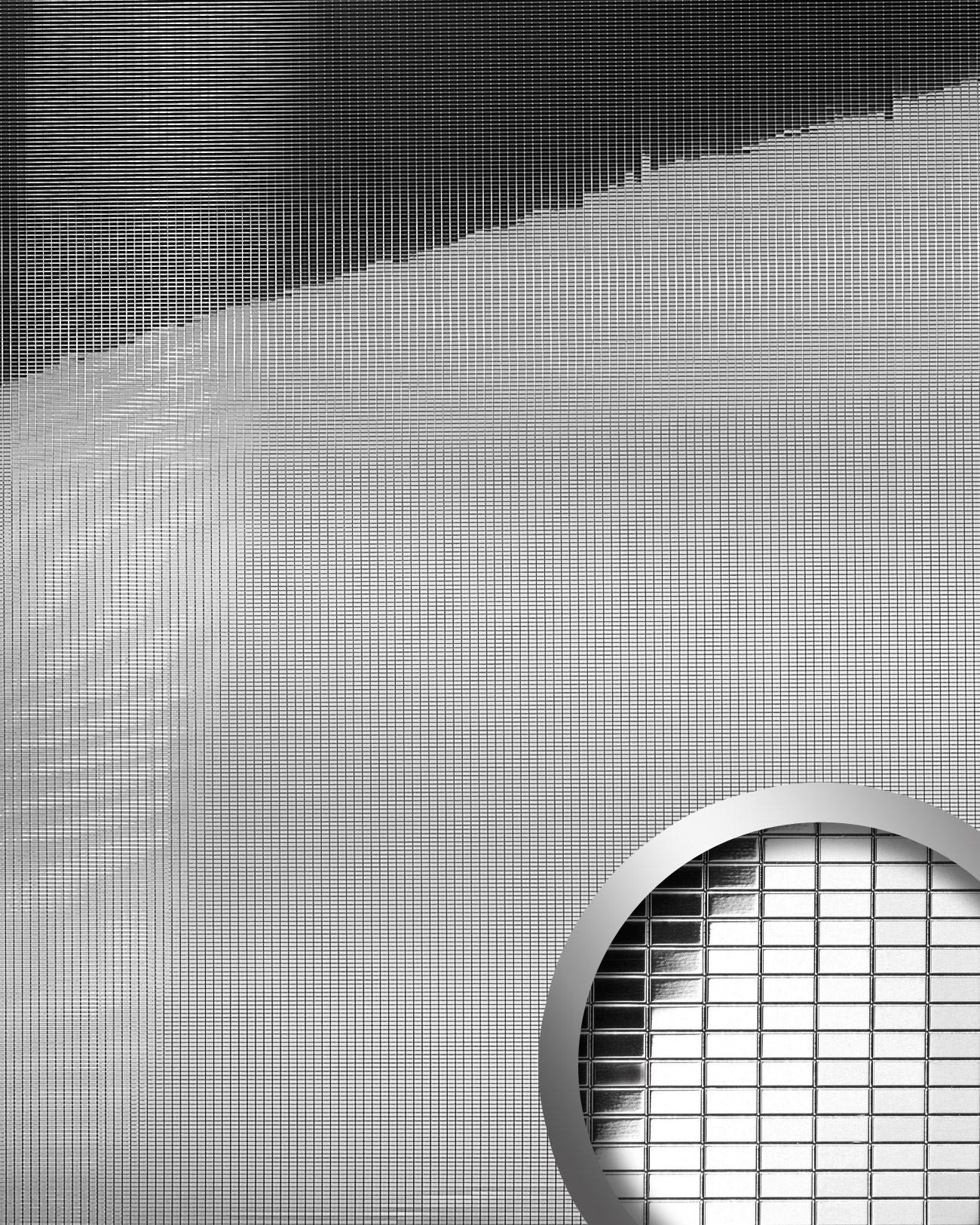 mosaik wandpaneel wallface 10652 m style silber original. Black Bedroom Furniture Sets. Home Design Ideas