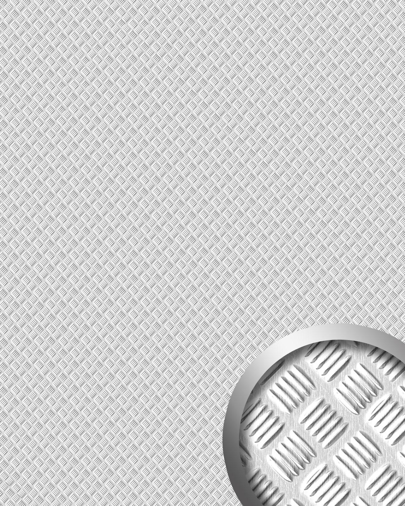 Metalloptik Wandpaneel 16438