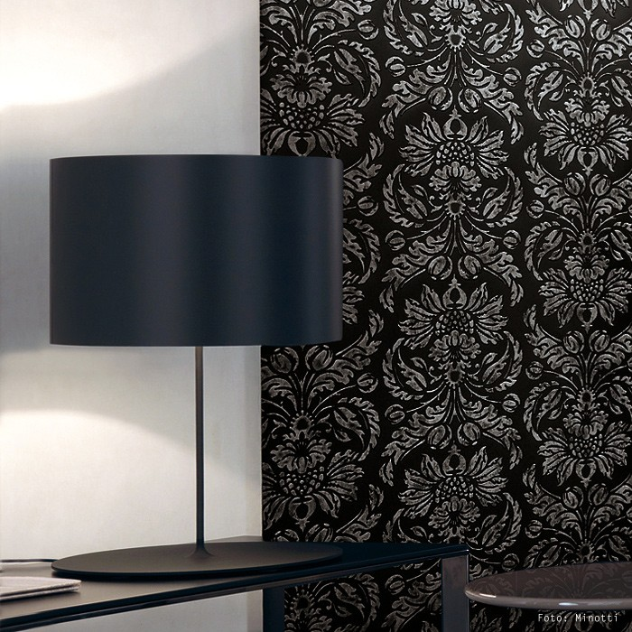 barock wandverkleidung wallface 14800 imperial schwarz. Black Bedroom Furniture Sets. Home Design Ideas