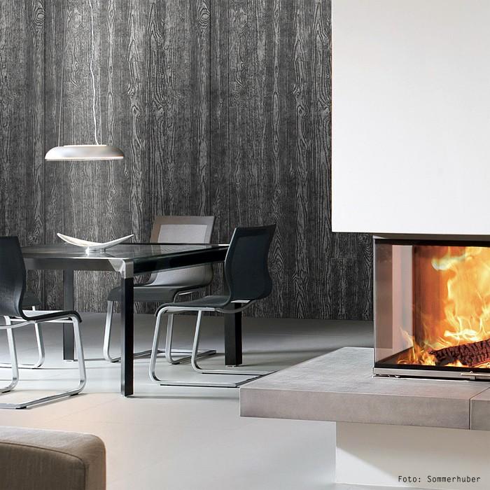 Selbstklebende Tapeten Holz : Wandpaneel Holz Optik WallFace 14806 WOOD Design Blickfang Dekor
