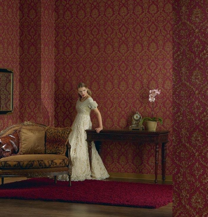 edem 708 38 hochwertige pr ge barock tapete damask ornament gr n gold platin ebay. Black Bedroom Furniture Sets. Home Design Ideas