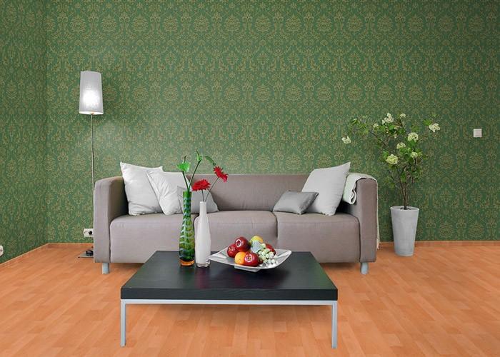 edem 708 38 hochwertige pr ge barock tapete damask ornament gr n gold platin original edem edel. Black Bedroom Furniture Sets. Home Design Ideas